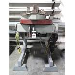 """Team Industries 30,000 Lb Cap Welding Positioner s/n JRP45-000810 w/ 32"""" 3-Jaw Chuck (SOLD AS-IS -"""