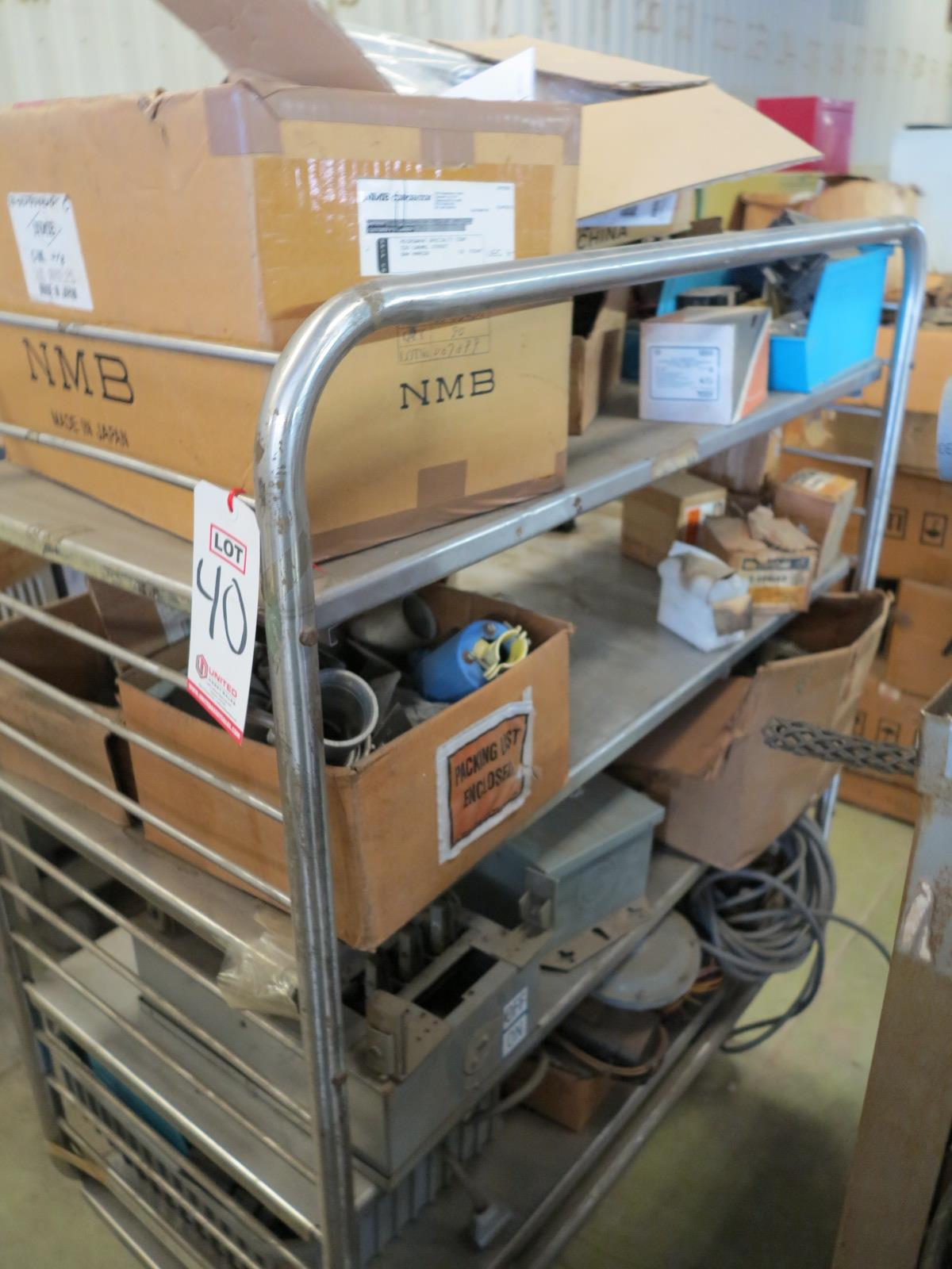Lot 40 - LOT - ELECTRICAL COMPONENTS
