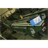 Lot 32 - FAEUILTAULT MDL 3000 SB MAGAZINE FEEDER, 16' L FEEDER W/ STAINLESS STEEL ROLL TOP CONVEYOR &