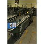 Lot 43 - FAEUILTAULT MDL 3000 SB MAGAZINE FEEDER, 16' L FEEDER W/ STAINLESS STEEL ROLL TOP CONVEYOR &