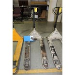 Lot 4 - CROWN PALLET JACK, 5000 LB CAP