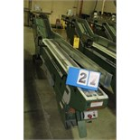 Lot 27 - FAEUILTAULT MDL 3000 SB MAGAZINE FEEDER, 16' L FEEDER W/ STAINLESS STEEL ROLL TOP CONVEYOR &