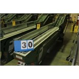 Lot 30 - FAEUILTAULT MDL 3000 SB MAGAZINE FEEDER, 16' L FEEDER W/ STAINLESS STEEL ROLL TOP CONVEYOR &