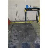 Lot 16 - 4' X 6' PLATFORM SCALE W/ TRANSELL TECHNOLOGY DIGITAL
