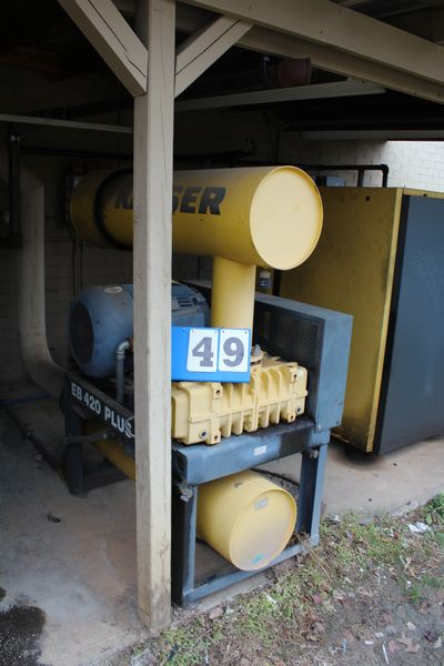Lot 49 - KAESER EB 420 BLOWERS