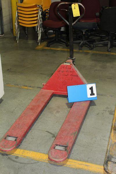 Lot 1 - DAYTON PALLET JACK, 5500 LB CAP