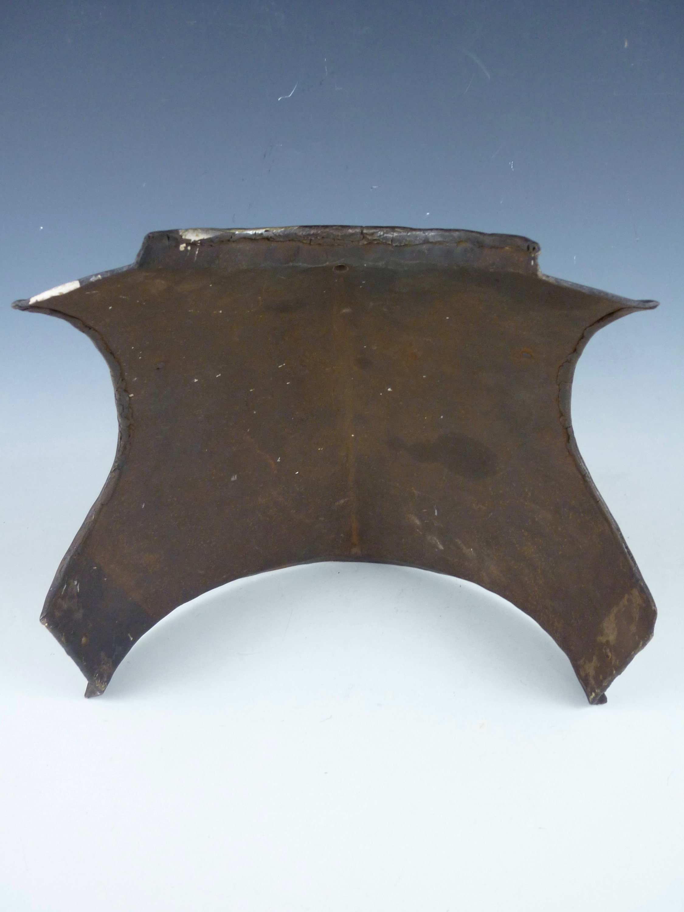 Lot 46 - A mid-17th Century harquebusier's breast plate