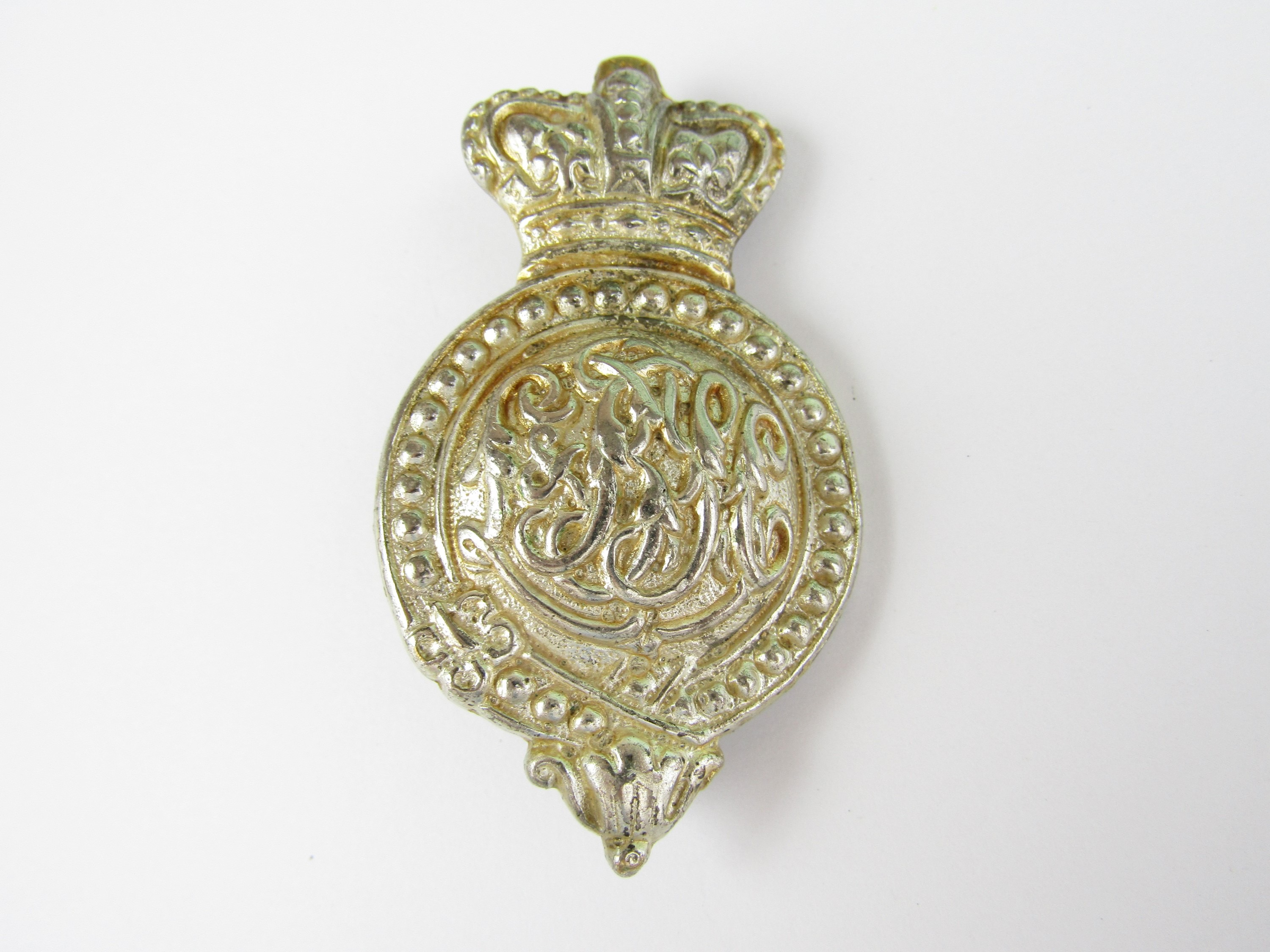 Lot 39 - A Victorian Lothians and Border Yeomanry Cavalry martingale badge