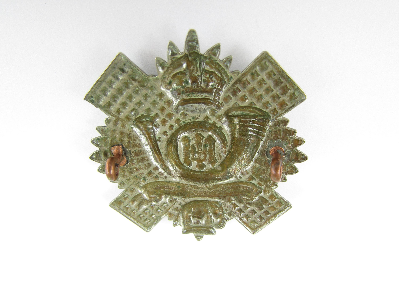 Lot 29 - A 1st / 2nd Volunteer Battalion HLI other rank's cap badge