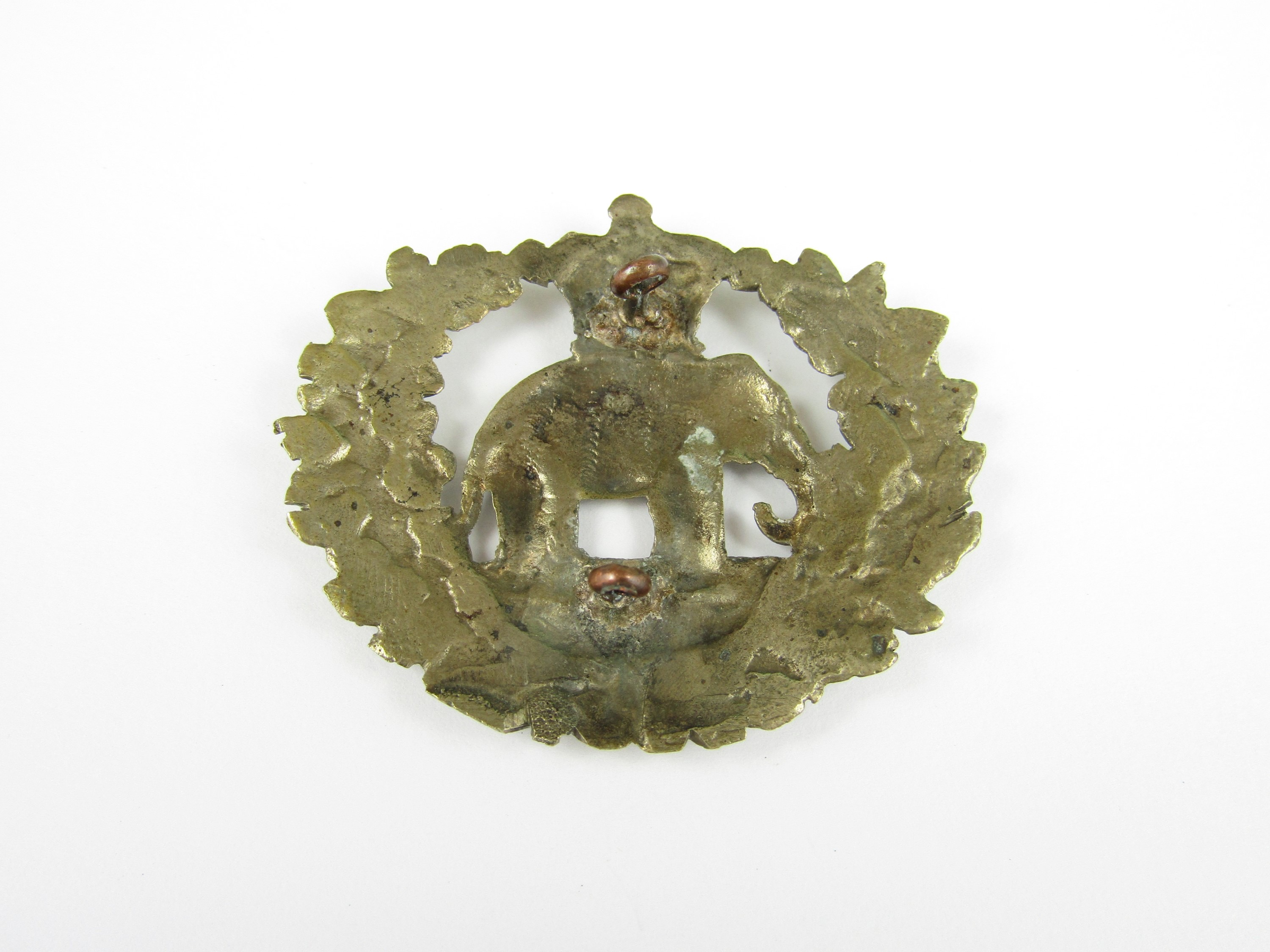 Lot 36 - A Victorian 71st Highlanders glengarry badge