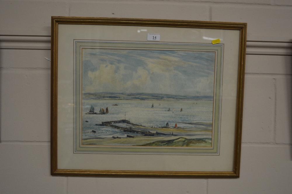 Lot 14 - John Charles Moody 1884-1962, signed watercolour l