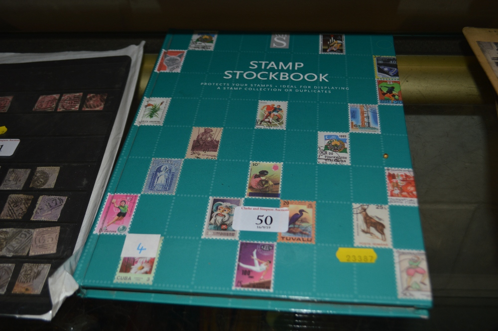 Lot 50 - A stock book of Australia and New Zealand stamps