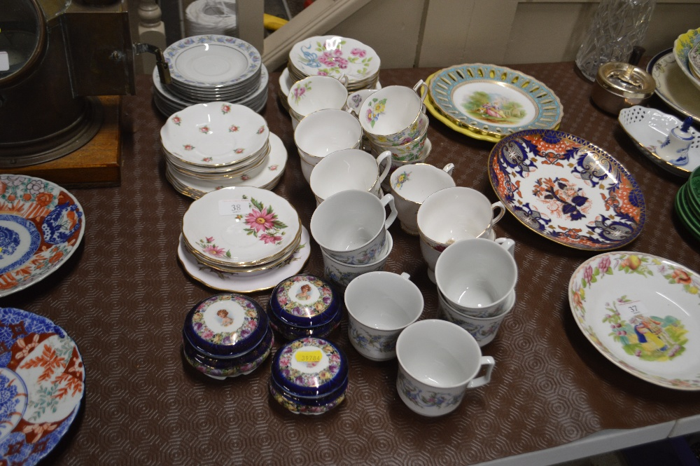 """Lot 38 - A quantity of Royal Albert """"Flower of the Month"""" s"""