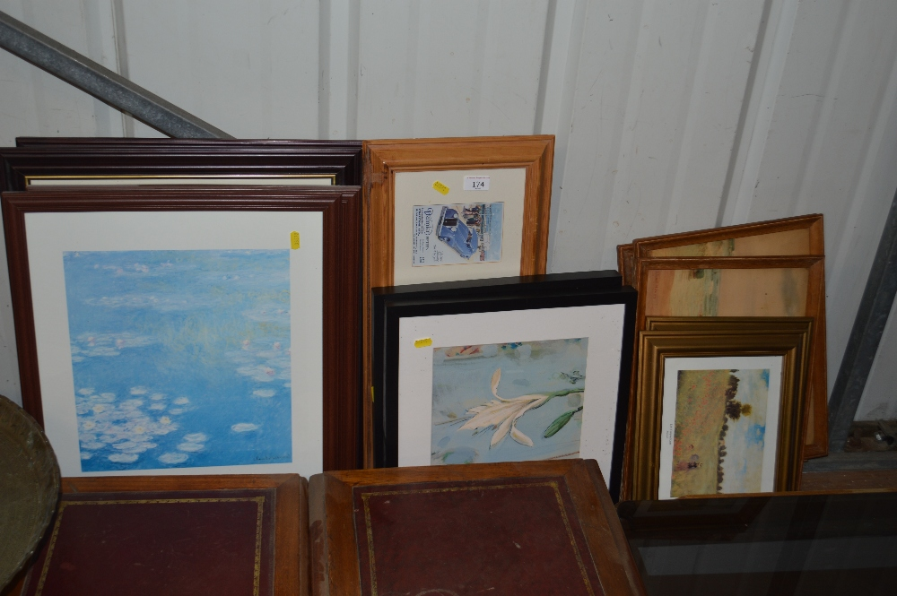 Lot 174 - A quantity of various prints after Monet and other