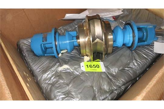 Paco Pumps split case pump impeller