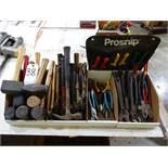 LOT: Hammers, Mallets, Pliers & Snips