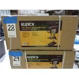 Klutch 10 in. Bench Mount Drill Press, (5) Speeds, 740 - 3140 RPM, 1/2 HP Motor, 1/2 in. Chuck