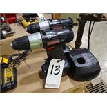 LOT: (2) Craftsman 3/8 in. Cordless Drills, with (2) Batteries & (1) Charger