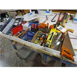 LOT: Assorted Drill Indexes with Drills, Assorted Tools