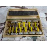 LOT: Wood Tech 1/4 in. to 2-1/8 in. Hole Drilling Bits