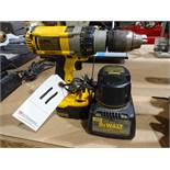 Dewalt Model DC983 Cordless Drill/Driver, with (2) Batteries & (1) Charger