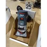 Bosch Model PR10E Colt 1 HP Palm Router