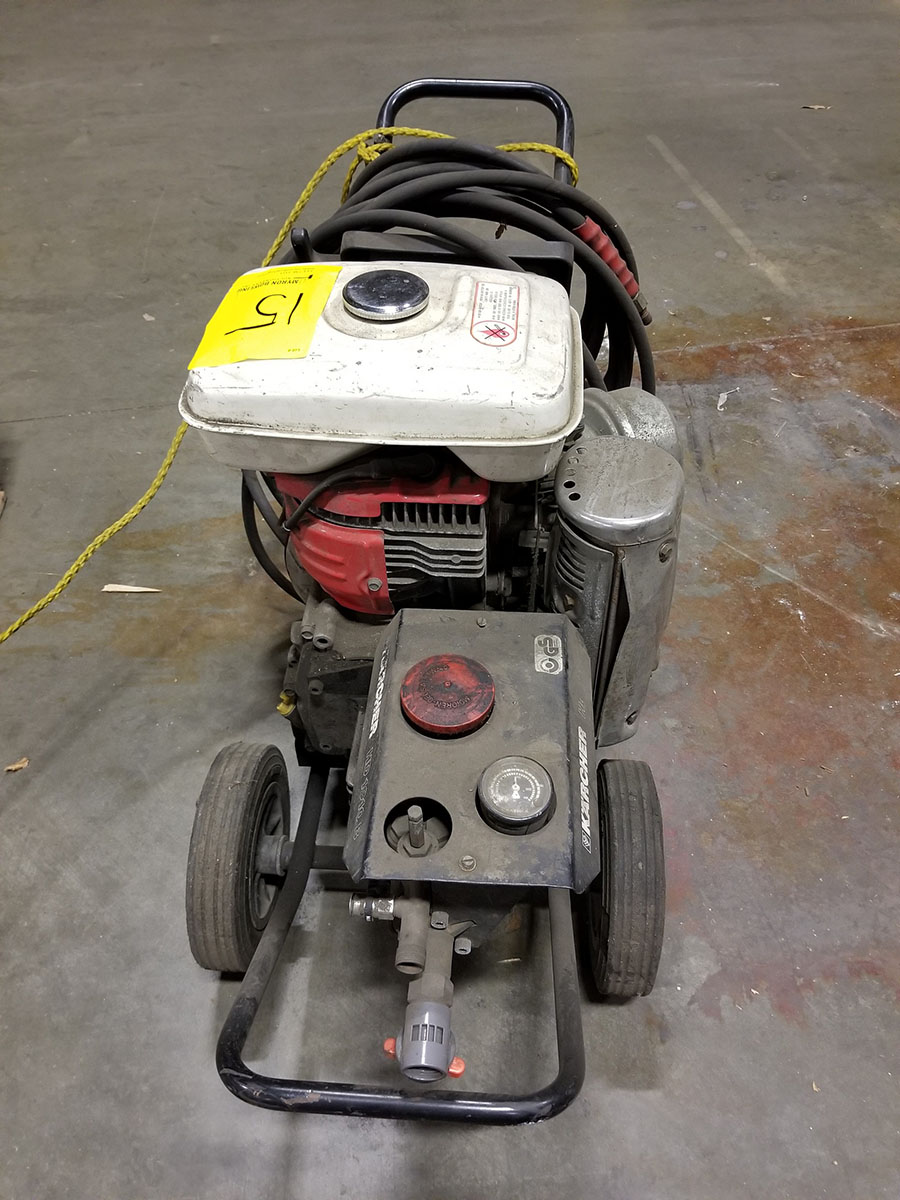 KARCHER HD 1010B GAS POWERED PRESSURE WASHER, HONDA G400 ENGINE - Image 5 of 6