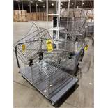 (78) WIRE BASKETS, SOME WITH WHEELS, 29'' X 21'' X 18'' AVERAGE, SOME STACKABLE