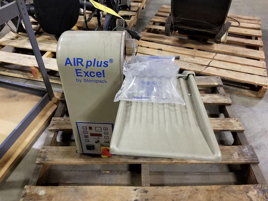 STOROPACK AIR PLUS EXCEL AIR POLY PACKAGING BAG BAGGER - Image 2 of 6