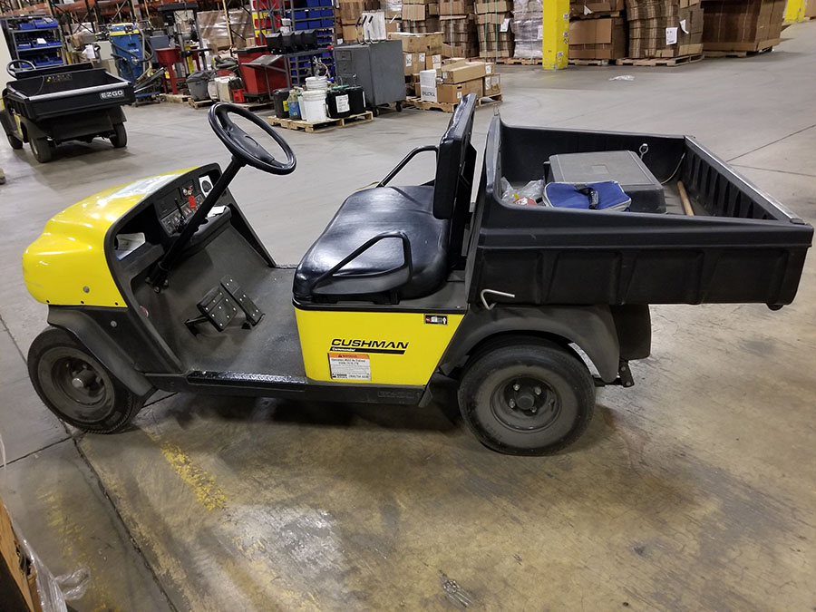 CUSHMAN COMMANDER GOLF CART - Image 4 of 7