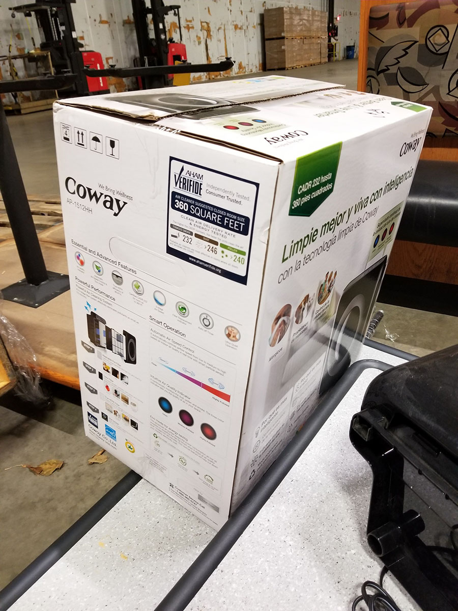 (2) CONWAY AIR PURIFIERS, MODEL AP-1512HH, 360 SQ. FT CAPACITY - Image 4 of 6