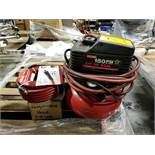 CRAFTSMAN PORTABLE PANCAKE COMPRESSOR, 2 HP-1HP, 4-GALLON, 150 PSI, SINGLE CYLINDER, OIL FREE, 3.7