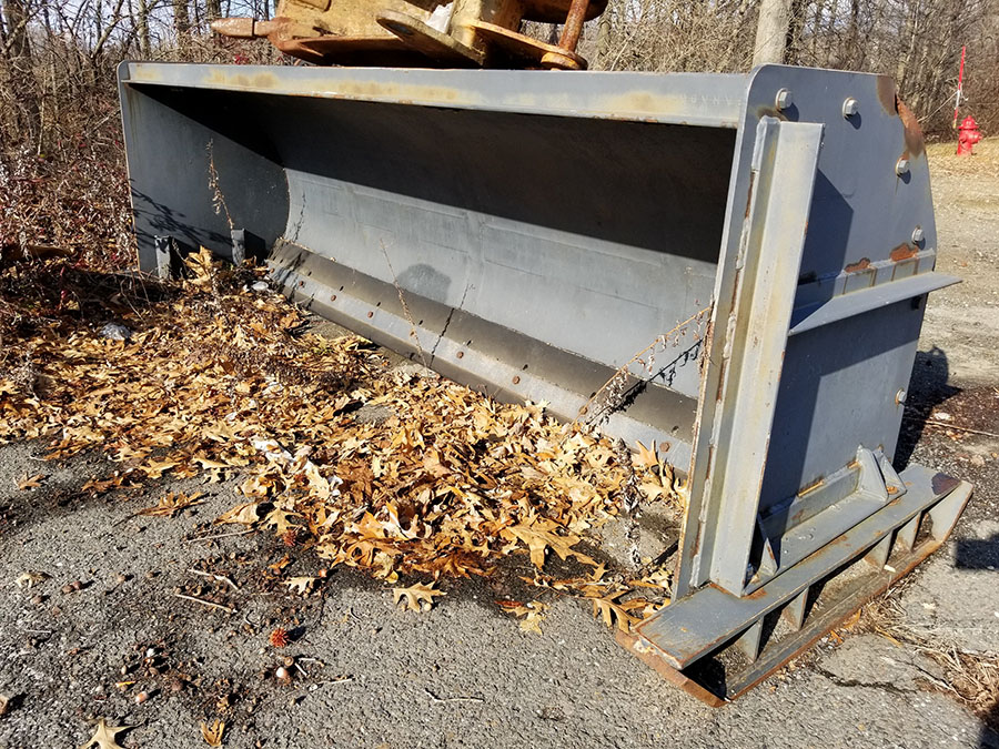 HENKE 10' SNOW PUSHER ATTACHMENT, - Image 8 of 8