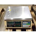 CAS SC10P COUNTING DIGITAL BENCH SCALE, 25 X 0.005 LB. CAPACITY, 14 1/2'' X 10'' SS PLATFORM