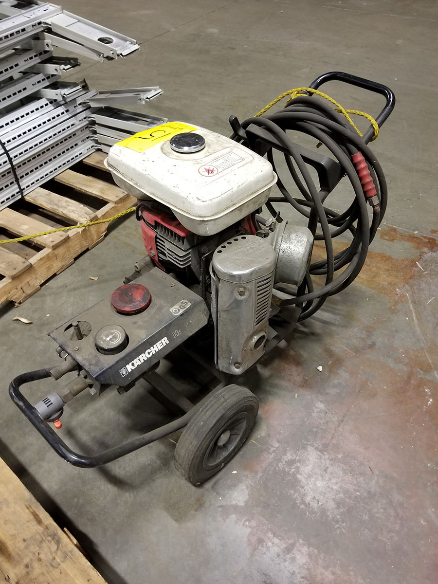 KARCHER HD 1010B GAS POWERED PRESSURE WASHER, HONDA G400 ENGINE - Image 2 of 6