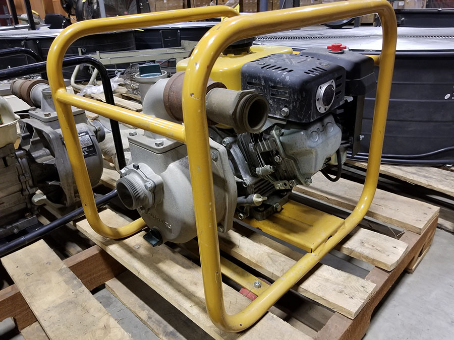 SUBARU WATER PUMP, MODEL PKX220, 2'' X 2'' CONNECTORS, 172 GPM, 92' TOTAL HEAD, S/N PKX22000350 - Image 5 of 6