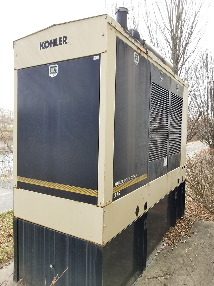 2004 KOHLER 275 EXTERIOR STANDBY SERVICE DUTY GENERATOR, MODEL 275REOZV, S/N 2004622, 528.9 - Image 20 of 23