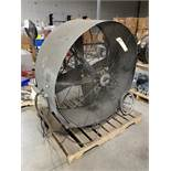 (1) 48'' TPI BELT DRIVE DRUM FAN