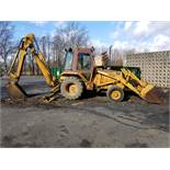 CASE 580E 4WD BACKHOE LOADER, EXTENDA-HOE, CONSTRUCTION KING, 80'' BUCKET, 2,630 HOURS