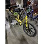 ATLAS TRI-CYCLE, MAG WHEELS, FRONT HAND BRAKE, REAR BASKET