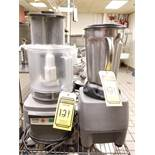 CUISINART COMMERCIAL FOOD PROCESSOR & STAINLESS STEEL HD BLENDER