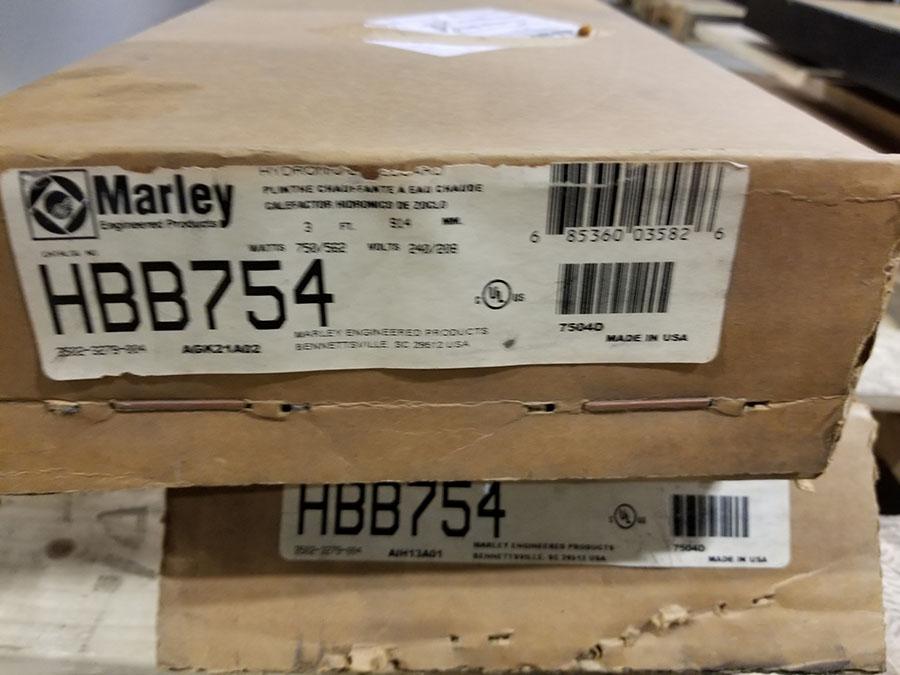 (2) MARLEY WALL HEATERS, 240/208V, 3' LONG - Image 2 of 3