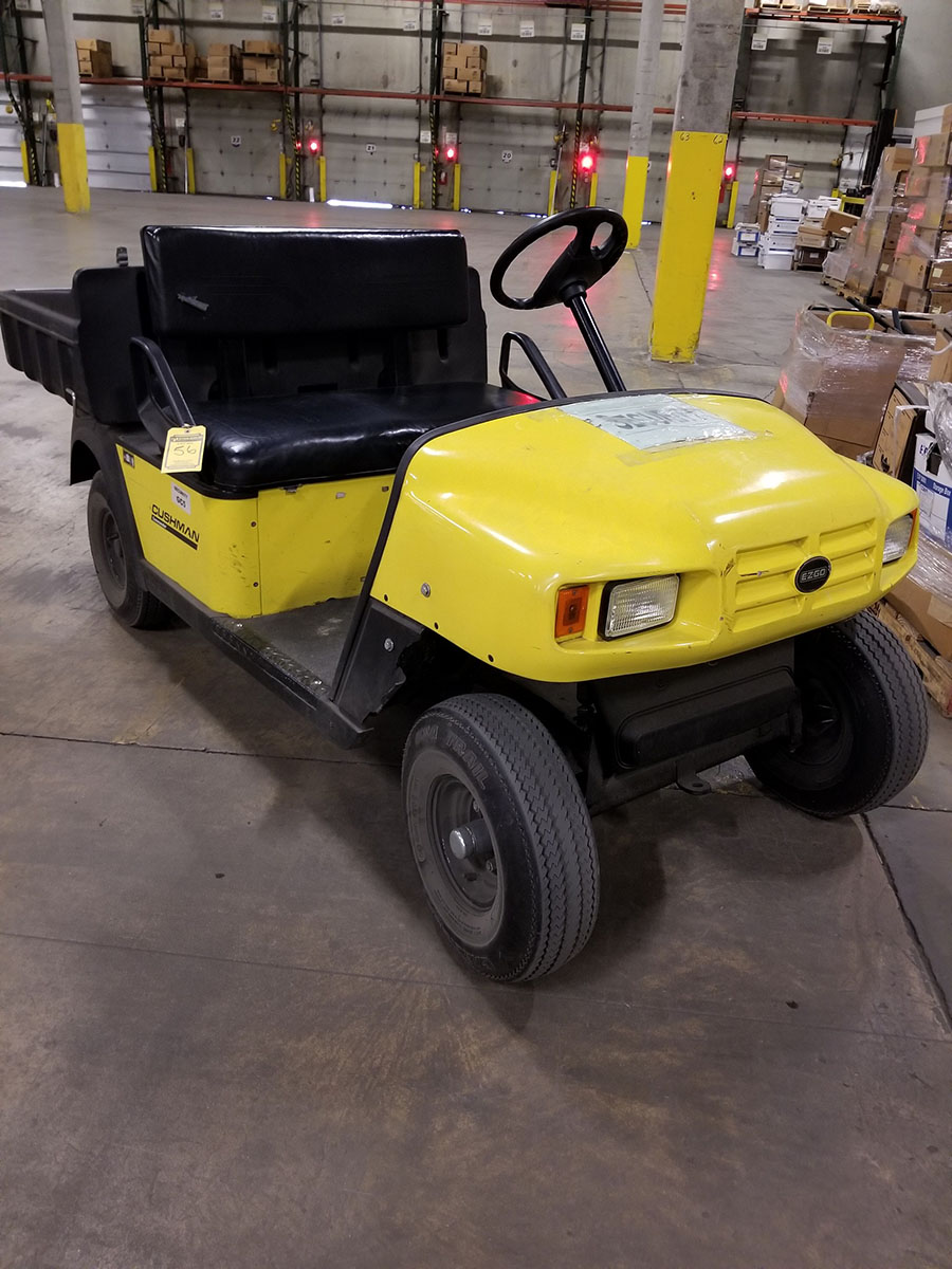 CUSHMAN COMMANDER GOLF CART - Image 2 of 7