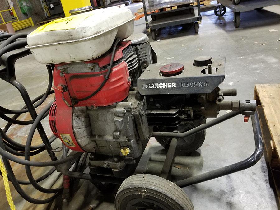 KARCHER HD 1010B GAS POWERED PRESSURE WASHER, HONDA G400 ENGINE - Image 4 of 6