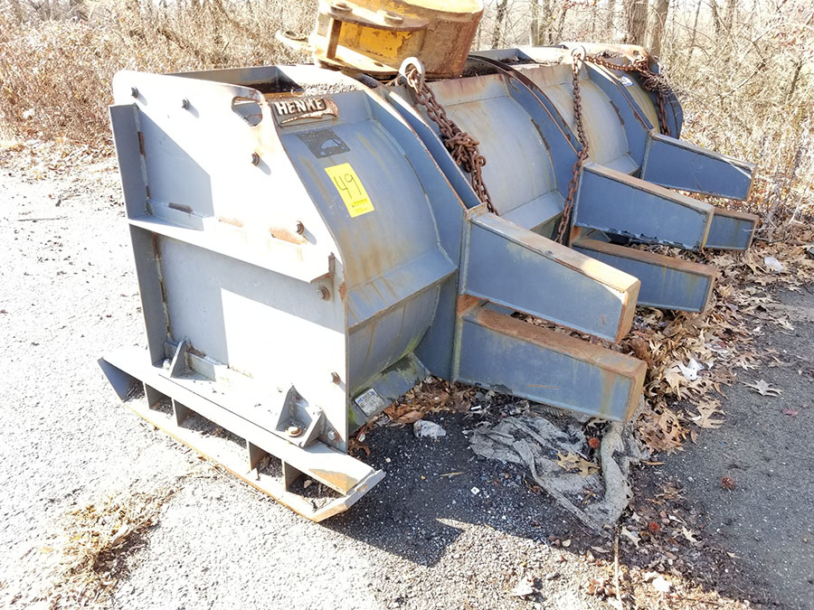 HENKE 10' SNOW PUSHER ATTACHMENT, - Image 4 of 8