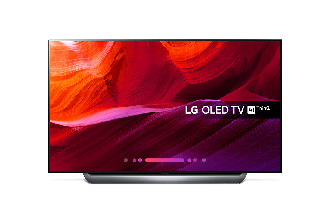 Lot 16500 - + VAT Grade A LG 77 Inch FLAT OLED ACTIVE HDR 4K UHD SMART TV WITH FREEVIEW HD & WEBOS & WIFI - AI