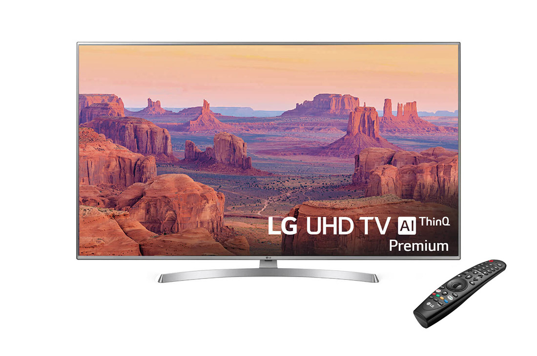 Lot 16014 - + VAT Grade A LG 55 Inch ACTIVE HDR 4K ULTRA HD LED SMART TV WITH FREEVIEW HD & WEBOS & WIFI - AI