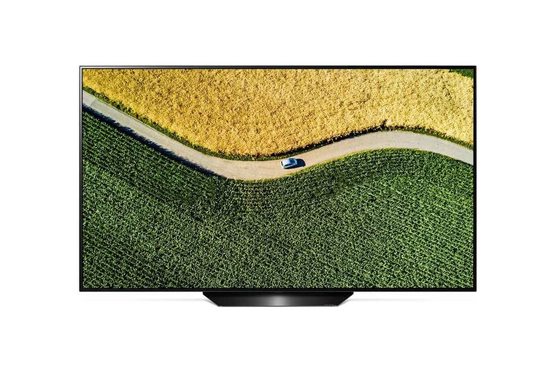Lot 16502 - + VAT Grade A LG 55 Inch FLAT OLED ACTIVE HDR 4K UHD SMART TV WITH FREEVIEW HD & WEBOS & WIFI - AI
