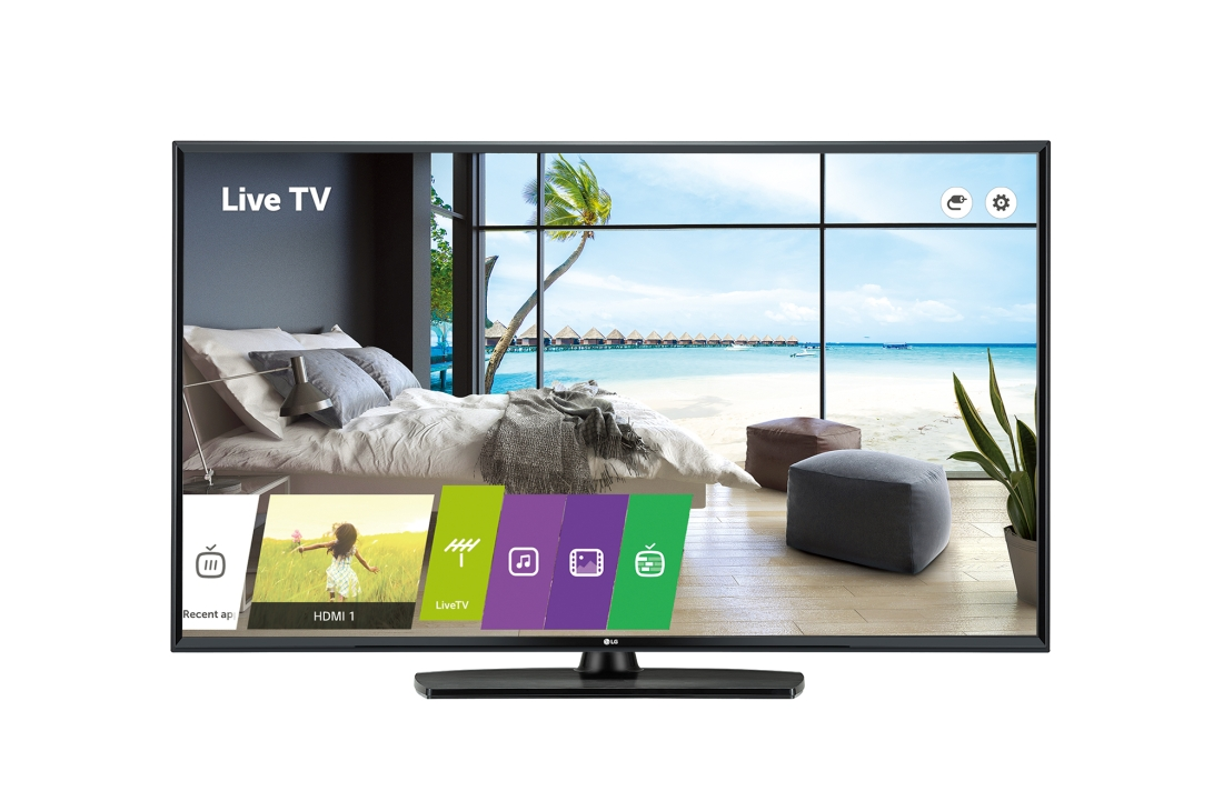 Lot 16519 - + VAT Grade A LG 55 Inch 4K UHD LED HOTEL TV 55UU661H