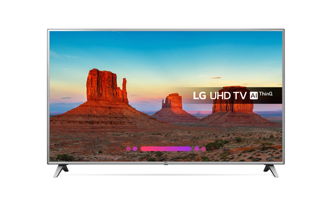 Lot 16024 - + VAT Grade A LG 75 Inch ACTIVE HDR 4K ULTRA HD LED SMART TV WITH FREEVIEW HD & WEBOS & WIFI - AI